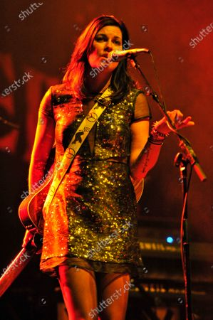 Tristan Prettyman performs during Miracle on State Street presented by 101.9fm The Mix at the Chicago Theater