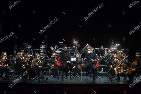 Editorial picture of Antonio Banderas presents 'Sinfonica Pop Soho' in Malaga, Spain - 25 Mar 2021