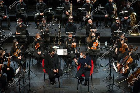Editorial photo of Antonio Banderas presents 'Sinfonica Pop Soho' in Malaga, Spain - 25 Mar 2021