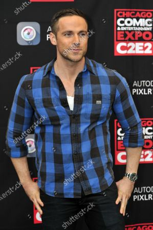 Dylan Bruce attends the Chicago Comic and Entertainment Expo C2E2 at McCormick Place in Chicago, Illinois