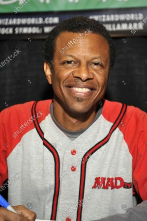 Stock Picture of Phil LaMarr attends Wizard World Comic Con Fan Fest Chicago at Donald E. Stephens Convention Center