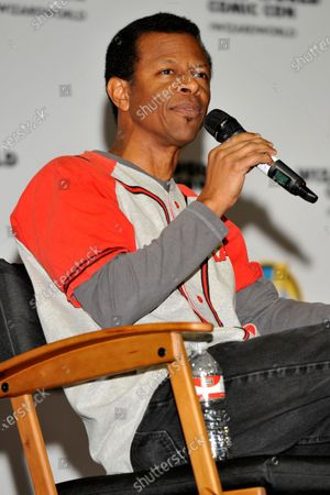 Phil LaMarr attends Wizard World Comic Con Fan Fest Chicago at Donald E. Stephens Convention Center