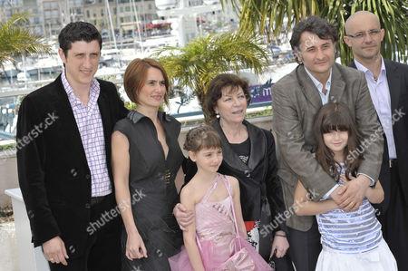 Costi Dita, Clara Voda, Carmela Culda, Luminita Gheorghiu, Director Cristi Puiu and Ileana Puiu
