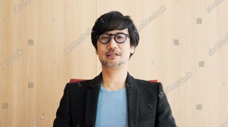 Stock Image of Hideo Kojima presents the Game Design award at the 2021 British Academy Games Awards