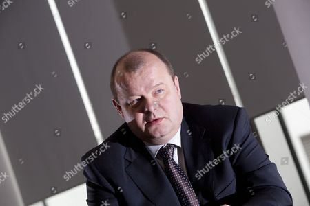 Editorial photo of Sigurdur Einarsson, Chief Executive of Icelandic bank Kaupthing, at their offices in London, Britain - 21 Apr 2008