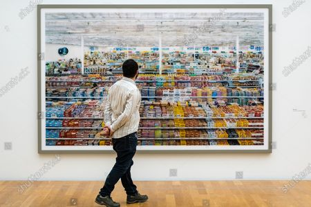 Editorial picture of Andreas Gursky photo exhibit in Leipzig, Germany - 25 Mar 2021