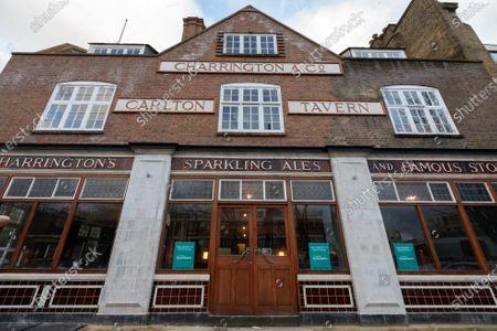 Editorial picture of Carlton Tavern pub, South Kilburn, UK - 25 Mar 2021