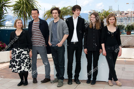 Laura Hastings-Smith (Producer), Enda Walsh, Aaron Johnson, Matthew Beard, Hannah Murray and Imogen Poots
