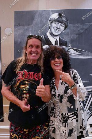 Editorial photo of World Renowned Drummer - Fine Art Artist John Douglas Comes to Delray Beach, Florida, USA - 25 Mar 2021