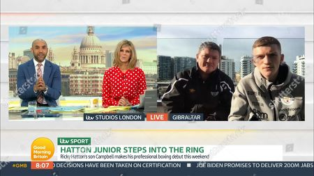 Editorial picture of 'Good Morning Britain' TV Show, London, UK - 26 Mar 2021