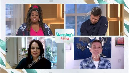 Editorial image of 'This Morning' TV Show, London, UK - 26 Mar 2021