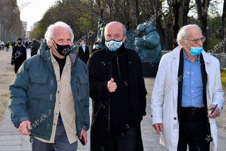 Yann Arthus-Bertrand and Philippe Geluck