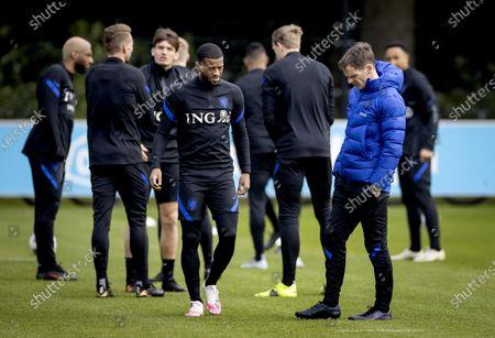 Editorial picture of Dutch National team training, Zeist, Netherlands - 26 Mar 2021