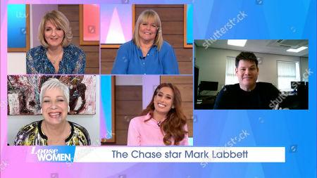 Kaye Adams, Linda Robson, Denise Welch, Stacey Solomon and Mark Labbett