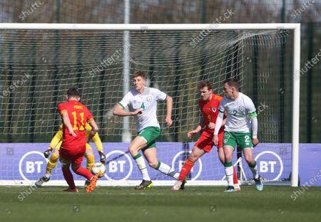 Editorial image of Wales U21 v Republic of Ireland U21 - International Friendly - 26 Mar 2021