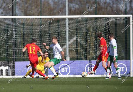 Editorial picture of Wales U21 v Republic of Ireland U21 - International Friendly - 26 Mar 2021