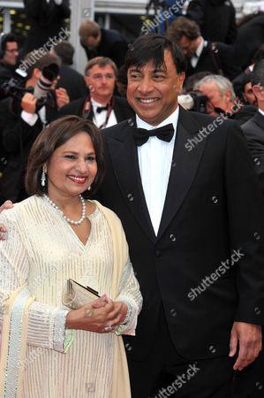 Lakshmi Mittal and Usha Mittal