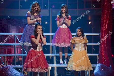 Sophie Evans, Danielle Hope, Lauren Samuels and Steph Fearon.