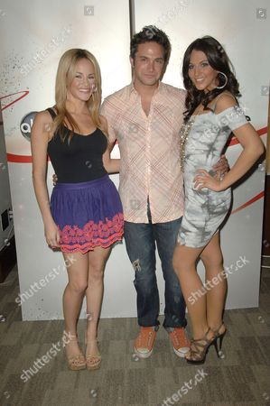Julie Berman, Brandon Barash and Adrianne Leon