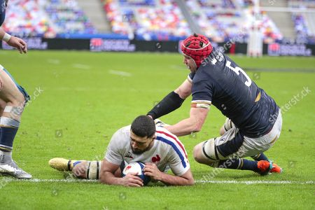 Editorial image of France v Scotland, Six Nations Championship, Round 3, Stade de France, Paris, France - 26 Mar 2021