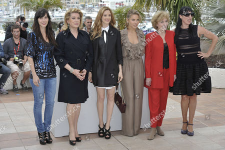 Angeles Gonzales Sinde, Catherine Deneuve, Pilar Lopez De Ayala, Elsa Pataky, Marisa Paredes, Rossy De Palma