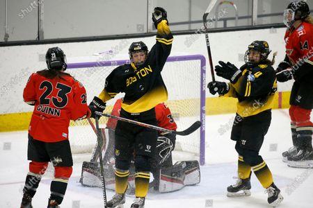 Editorial photo of NWHL Pride Six Isobel Cup Hockey, Boston, United States - 26 Mar 2021