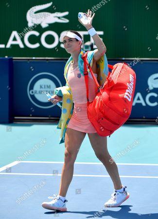 Ajla Tomljanovic of Australia
