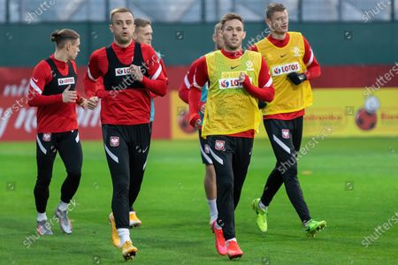 Editorial picture of Official training session of the Polish national football team in Warsaw, Poland - 26 Mar 2021