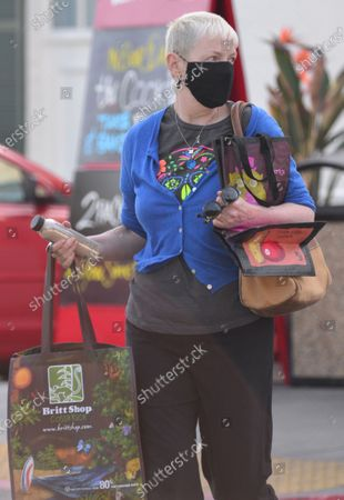 Editorial image of Exclusive - Annie Lennox out and about, West Hollywood, Los Angeles, USA - 26 Mar 2021