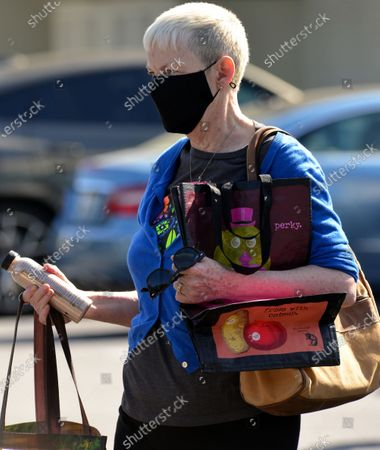 Editorial picture of Exclusive - Annie Lennox out and about, West Hollywood, Los Angeles, USA - 26 Mar 2021
