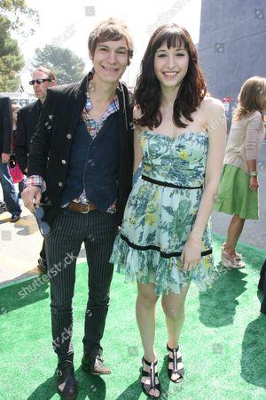 Stock Photo of Landon Pigg and Lucy Schwartz