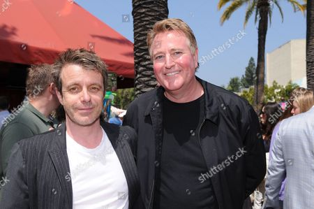 Composer Harry Gregson-Williams and Paramount's Randy Spendlove