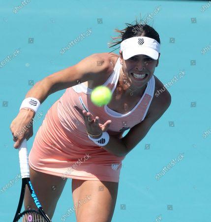 Editorial image of Miami Open tennis tournament, Hard Rock Stadium, Miami Gardens, Florida, USA - 26 Mar 2021