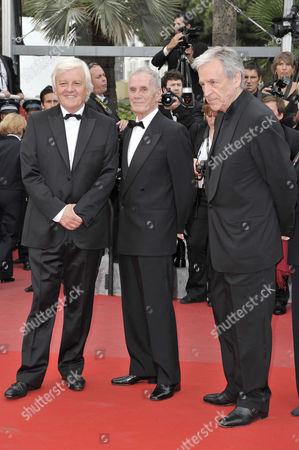 Costa-Gavras, Pierre Schoendorferand, Jacques Perrin