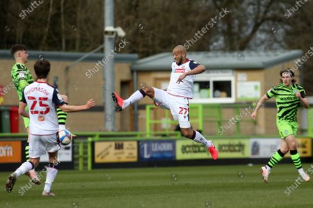 Editorial photo of Forest Green Rovers vs Bolton Wanderers, Sky Bet EFL League 2, Football, The New Lawn Stadium, Nailsworth, Gloucestershire, United Kingdom - 27 Mar 2021