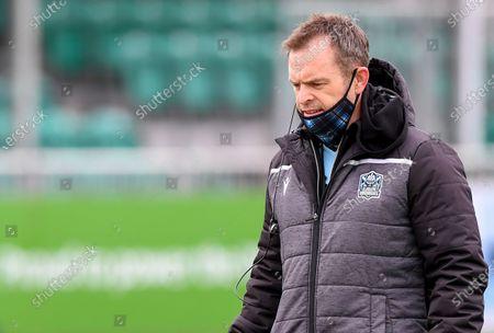 Glasgow Warriors vs Benetton Rugby. Glasgow Head Coach Danny Wilson