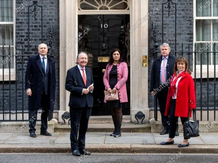 Stock Image of Iain Duncan Smith, David Alton, Nus Ghani, Tim Loughton, Helena Kennedy