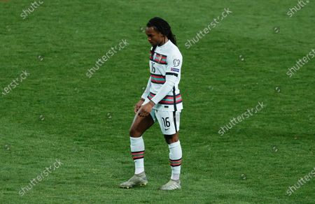 Renato Sanches of Portugal looks dejected after the match