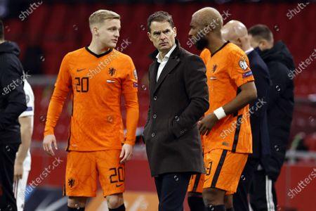 Editorial image of Netherlands vs Latvia, Amsterdam - 27 Mar 2021