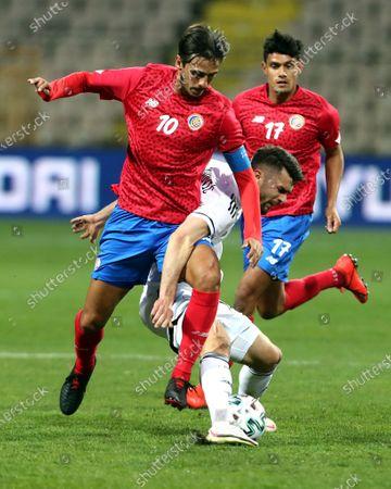 Editorial picture of Bosnia and Herzegovina vs Costa Rica, Zenica - 27 Mar 2021