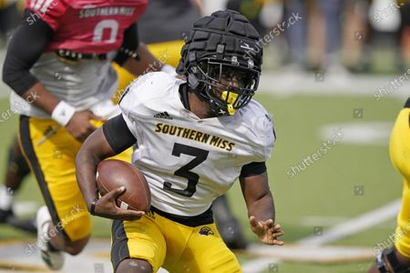 Editorial image of Southern Mississippi Spring Scrimmage Football, Hattiesburg, United States - 27 Mar 2021