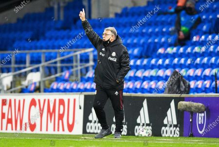 Stock Picture of Mexico Manager Gerardo Martino reacts during the international friendly match between Wales and Mexico at the Cardiff City Stadium, Cardiff