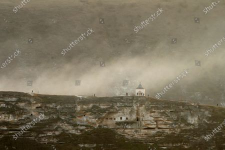 Editorial image of Historical complex of Orheiul Vechi, Butuceni Village, Moldova - 27 Mar 2021