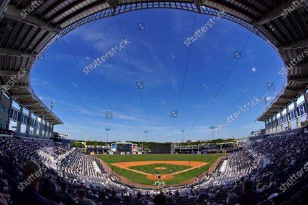 Editorial photo of Blue Jays Yankees Spring Baseball, Tampa, United States - 27 Mar 2021