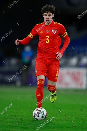 Wales' Neco Williams dribbles the ball during a friendly soccer match against Mexico at the Cardiff City Stadium, in Cardiff, Wales