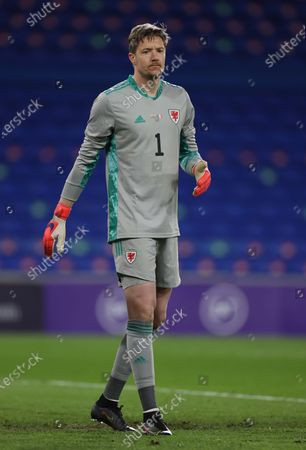 Stock Picture of Wayne Hennessey of Wales.