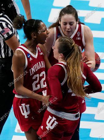 Editorial photo of NCAA Indiana NC State Basketball, San Antonio, United States - 27 Mar 2021