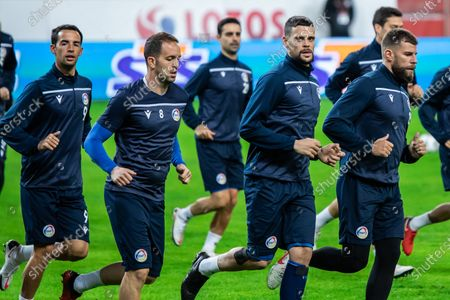 Editorial picture of Poland and Andorra official training session in Warsaw - 27 Mar 2021