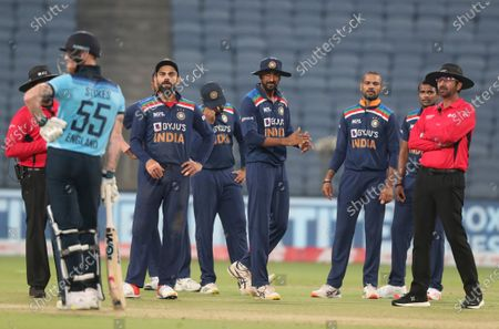 Editorial picture of England Cricket, Pune, India - 28 Mar 2021