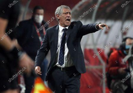 Portugal coach Fernando Santos